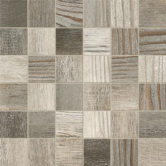 Mozaika Barnwood 33x33 mix grey